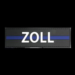 """Abzeichen ZOLL """"Thin Blue..."""