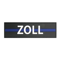 "Badge ZOLL ""Thin Blue Line"""