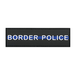 "Badge BORDER POLICE ""Thin..."