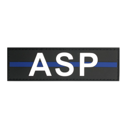 "Badge ASP ""Thin Blue Line"""