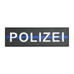 "Badge POLIZEI ""Thin Blue Line"""