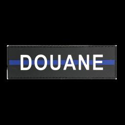 "Badge DOUANE ""Thin Blue Line"""