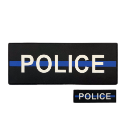 "Pack POLICE ""Thin Blue Line"""