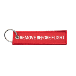 Porte-clés REMOVE BEFORE FLY