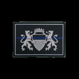 """Badge LAUSANNE """"Thin Blue..."""