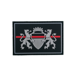 "Badge LAUSANNE ""Thin Red Line"""