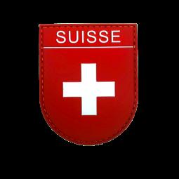 Abzeichen SUISSE - Rot