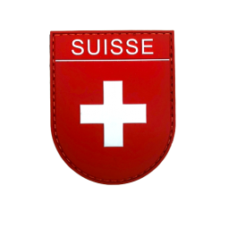Badge SUISSE - Red