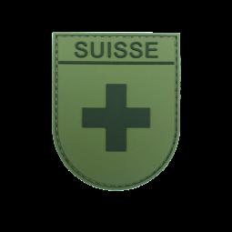 Abzeichen SUISSE - Olive