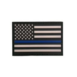 "Badge ""Thin Blue Line USA"""
