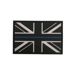 "Badge ""Thin Blue Line UK"""