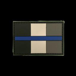"""Abzeichen """"Thin Blue Line..."""