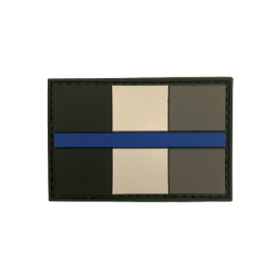 "Badge ""Thin Blue Line France"""