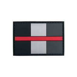 "Badge ""Thin Red Line France"""