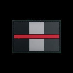 """Abzeichen """"Thin Red Line..."""