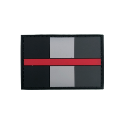 "Badge ""Thin Red Line Italy"""