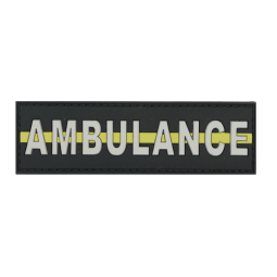 "Badge AMBULANCE ""Thin..."