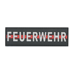 "Badge FEUERWEHR ""Thin Red..."