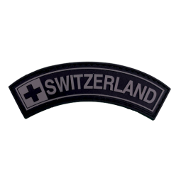 Badge SWITZERLAND - Black