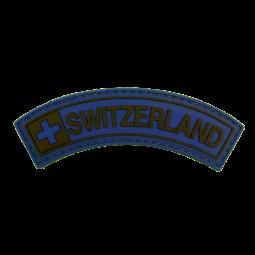 Badge SWITZERLAND - Blue