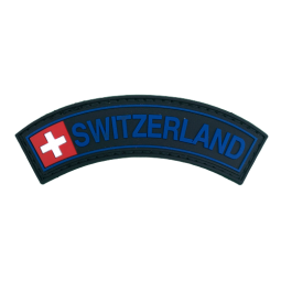 Badge SWITZERLAND - Black &...