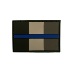 "Badge ""Thin Blue Line..."