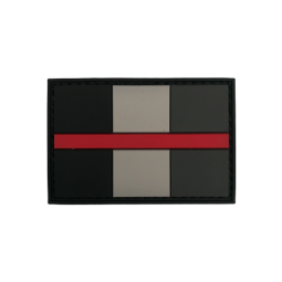 "Badge ""Thin Red Line Belgique"""