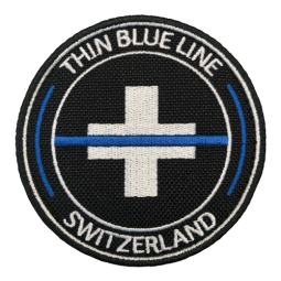 "Badge rond cordura ""Thin..."